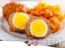 Снимка на рецепта Яйца облечени в кайма